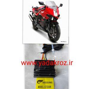 شارجر موتور سیکلت هیوسانگ ریس 250