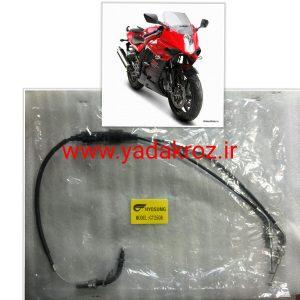 سیم گاز موتور سیکلت هیوسانگ ریس 250