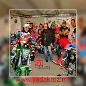 دختران موتور سوار ایران