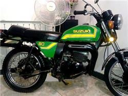 موتور سیکلت مینی یاماها و مینی سوزوکی ۸۰سی سی قدیمی