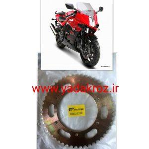 دنده عقب دور بزرگ بسیار مناسب برای شتاب برای موتور سیکلت هیوسانگ ریس۲۵۰