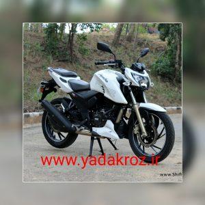 محصول جدید هندوستانtvs آپاچی ۲۰۰
