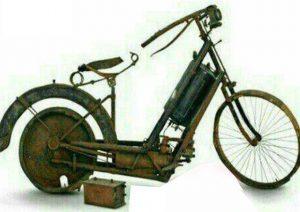 قدیمیترین موتور سیکلت جهان فسیل