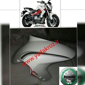 گلگیر جلو موتور سیکلت بنلی دوسیلندر و تک سیلندر 300 250 فروش لوازم بنلی